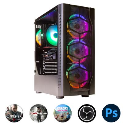 Компьютер Зеон для современных игр, стриминга и работы с фото [K78]
